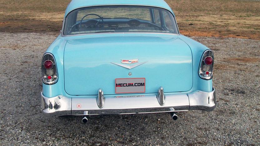 1956 Chevrolet Bel Air Sedan 350/300 HP, Automatic presented as lot S187.1 at Houston, TX 2013 - image3