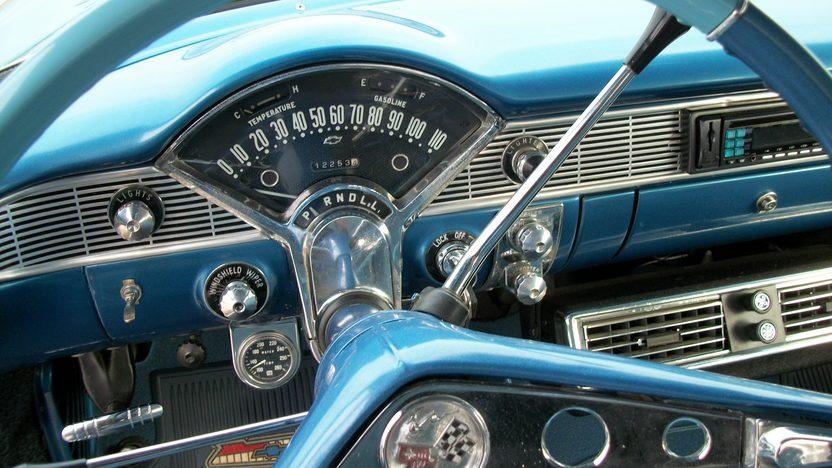 1956 Chevrolet Bel Air Sedan 350/300 HP, Automatic presented as lot S187.1 at Houston, TX 2013 - image5