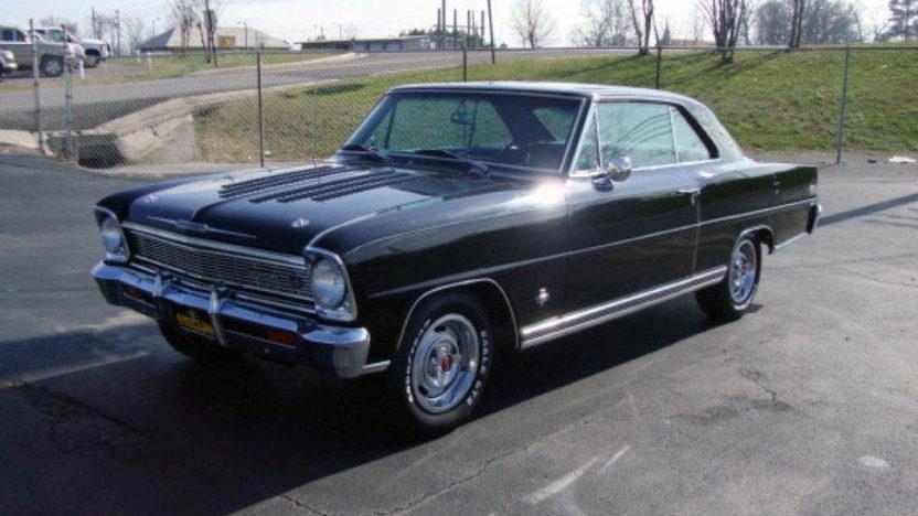 1966 Chevrolet Nova SS 327/365 HP, Vintage Air presented as lot S182 at Houston, TX 2013 - image8