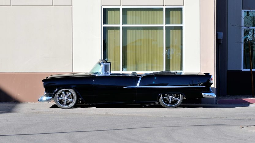 1955 Chevrolet Bel Air Convertible LT4, Air Bag Suspension presented as lot S185 at Houston, TX 2013 - image2