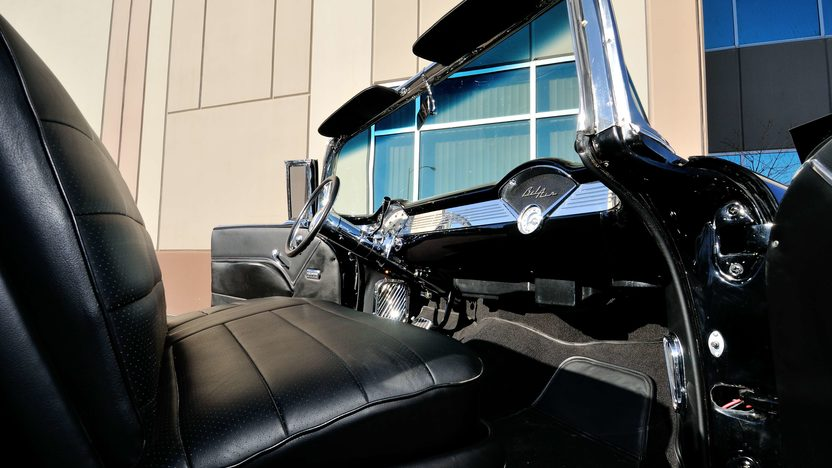1955 Chevrolet Bel Air Convertible LT4, Air Bag Suspension presented as lot S185 at Houston, TX 2013 - image6
