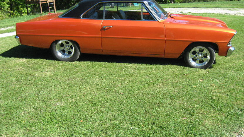 1966 Chevrolet Nova 468 CI, Automatic presented as lot S188 at Houston, TX 2013 - image2