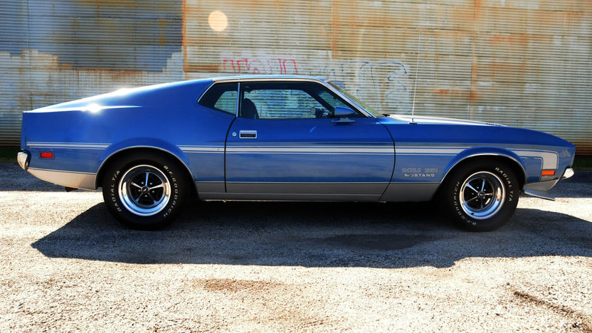 1971 Ford Mustang Boss 351 Fastback 351 CI, 4-Speed presented as lot S190 at Houston, TX 2013 - image2