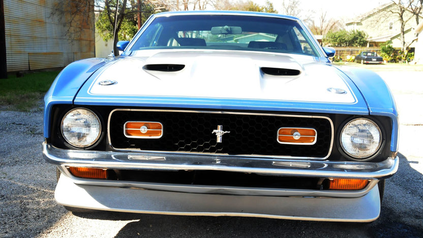 1971 Ford Mustang Boss 351 Fastback 351 CI, 4-Speed presented as lot S190 at Houston, TX 2013 - image5