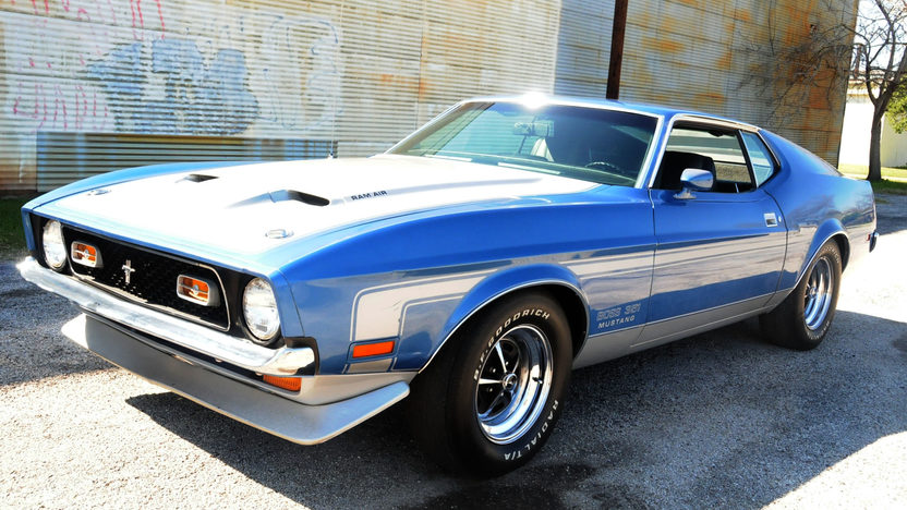 1971 Ford Mustang Boss 351 Fastback 351 CI, 4-Speed presented as lot S190 at Houston, TX 2013 - image7