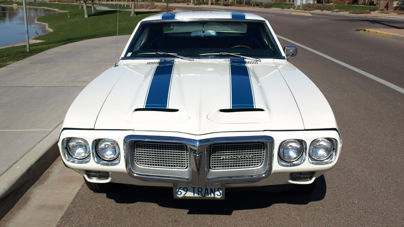 1969 Pontiac Trans Am 400/335 HP, 4-Speed, One Owner Car presented as lot S191 at Houston, TX 2013 - image8