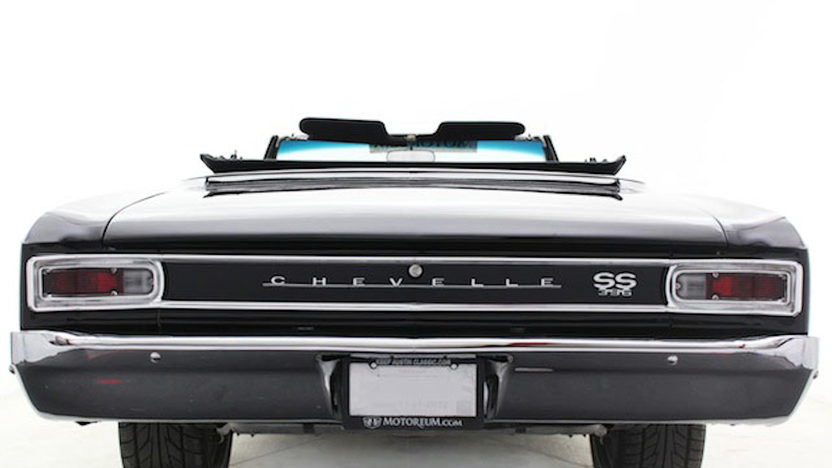 1966 Chevrolet Chevelle Convertible 396/350 HP, Automatic presented as lot S196 at Houston, TX 2013 - image3
