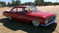 1959 Chevrolet Biscayne Dual Quad 283 CI, Air Ride presented as lot S199 at Houston, TX 2013 - thumbail image10