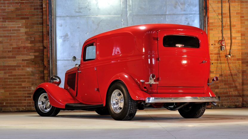 1933 Ford Sedan Delivery Street Rod 350 TPI, All Steel Body presented as lot S204 at Houston, TX 2013 - image3