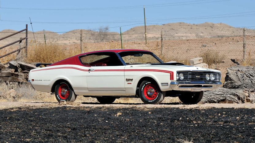 1969 Mercury Cyclone Spoiler Yarborough Special 428 CI, 4-Speed presented as lot S215 at Houston, TX 2013 - image12