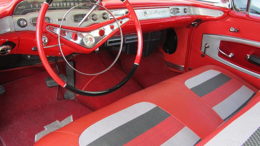 1958 Chevrolet Impala Hardtop 348 CI, Continental Kit presented as lot S224 at Houston, TX 2013 - image4