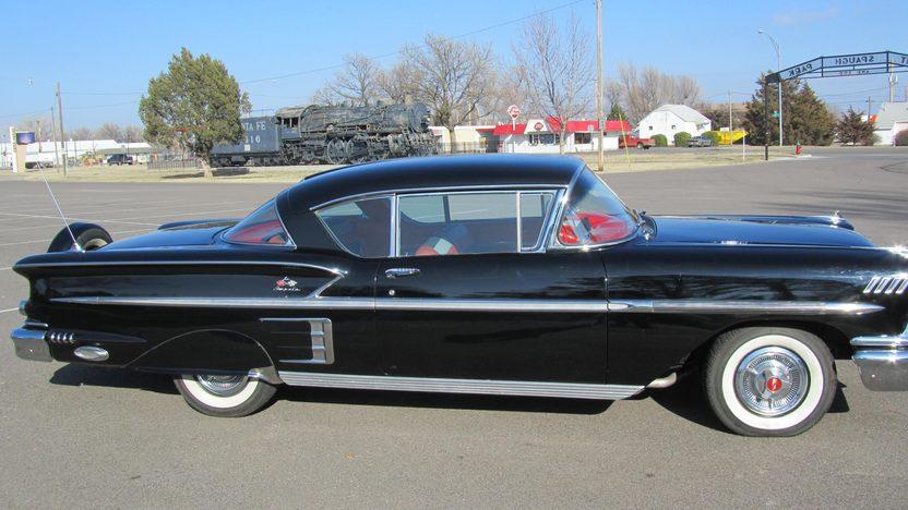 1958 Chevrolet Impala Hardtop 348 CI, Continental Kit presented as lot S224 at Houston, TX 2013 - image6