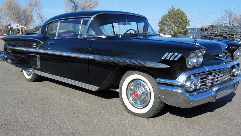 1958 Chevrolet Impala Hardtop 348 CI, Continental Kit presented as lot S224 at Houston, TX 2013 - image7