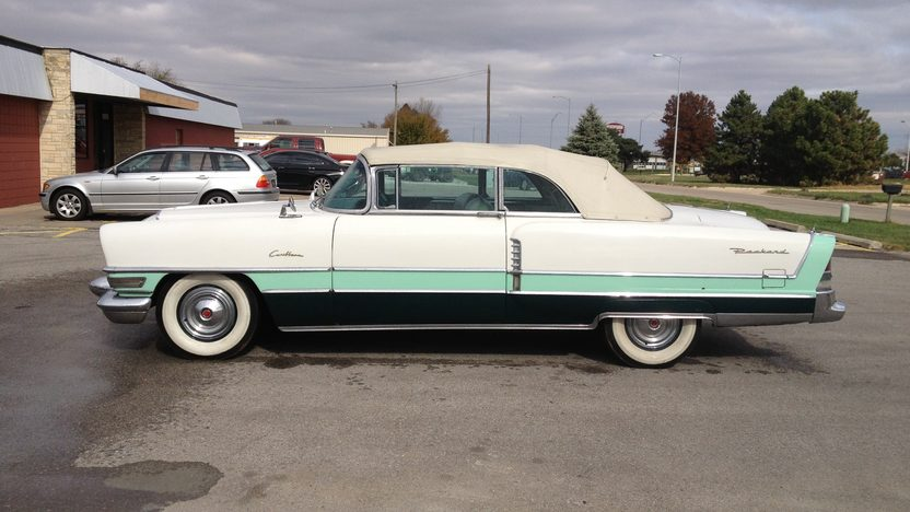 1955 Packard Caribbean Convertible Canceled Lot presented as lot S226 at Houston, TX 2013 - image2