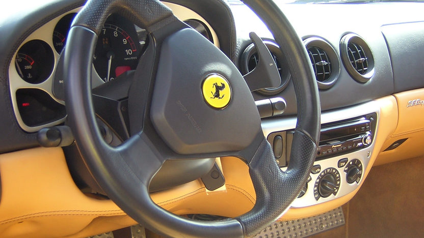 2002 Ferrari 360 F1 Spider presented as lot S256 at Houston, TX 2013 - image3