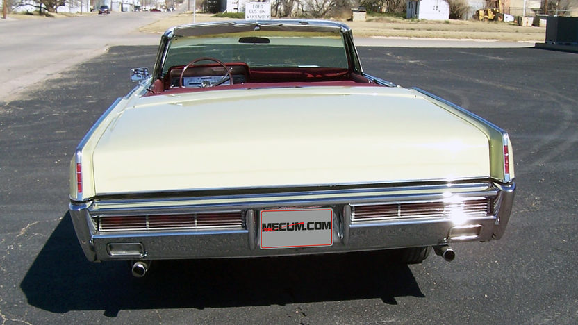 1966 Lincoln Continental Convertible presented as lot S274 at Houston, TX 2013 - image3