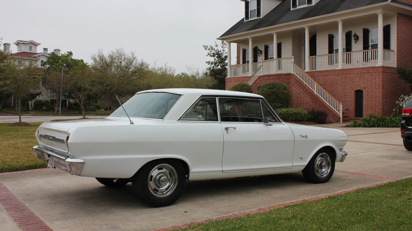 1964 Chevrolet Chevy II 283 CI, 4-Speed presented as lot S5 at Houston, TX 2013 - image3