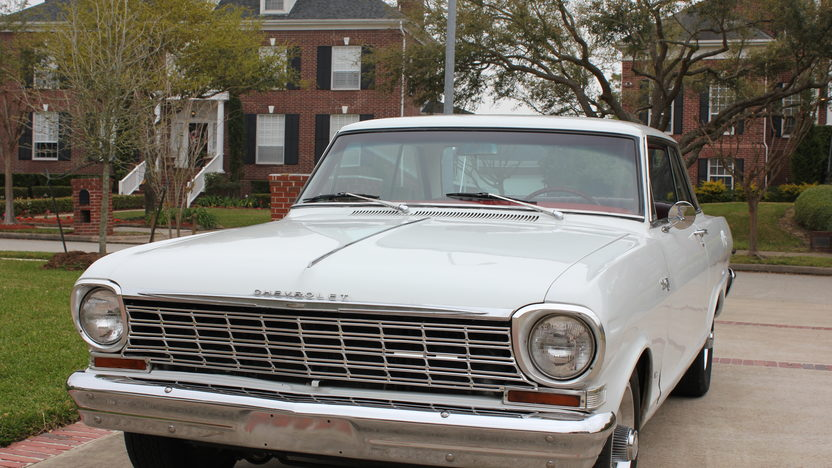 1964 Chevrolet Chevy II 283 CI, 4-Speed presented as lot S5 at Houston, TX 2013 - image8