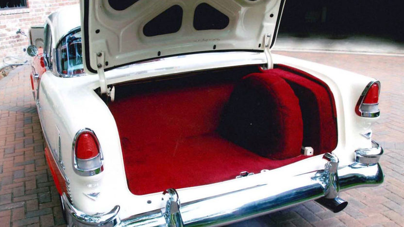 1955 Chevrolet Bel Air Hardtop 350 CI, Automatic presented as lot S24 at Houston, TX 2013 - image3