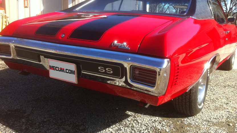 1970 Chevrolet Chevelle SS 454 CI, Automatic presented as lot S25 at Houston, TX 2013 - image2
