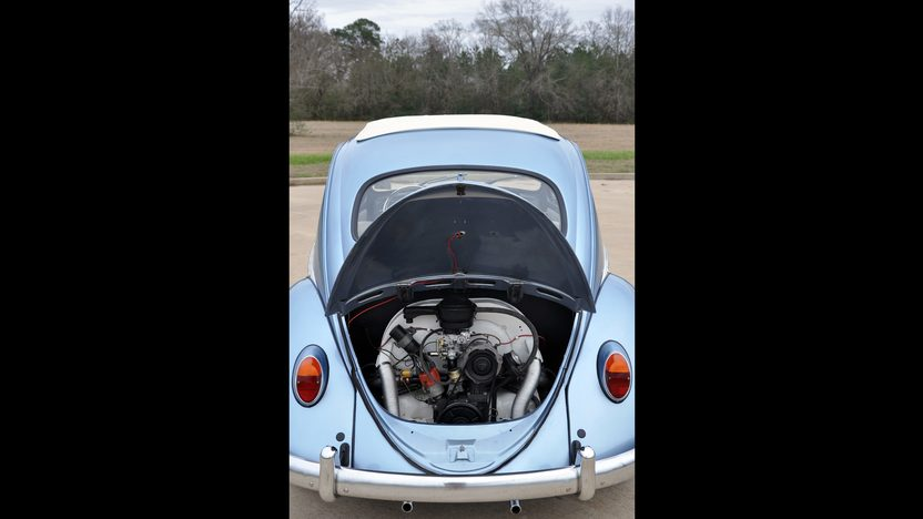 1963 Volkswagen Beetle Ragtop 1600 CC, 4-Speed presented as lot S44 at Houston, TX 2013 - image7