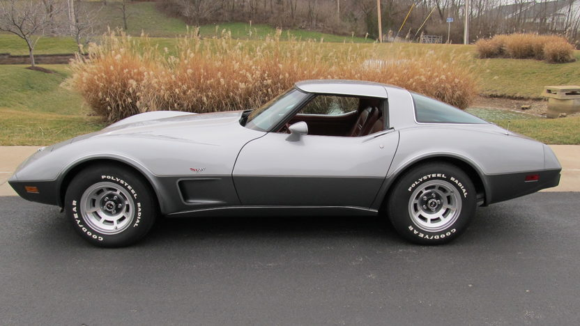 1978 Chevrolet Corvette Silver Anniversary 350/185 HP, Automatic presented as lot S75 at Houston, TX 2013 - image2
