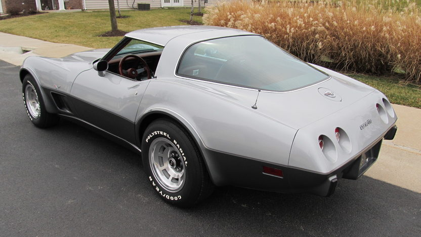 1978 Chevrolet Corvette Silver Anniversary 350/185 HP, Automatic presented as lot S75 at Houston, TX 2013 - image3