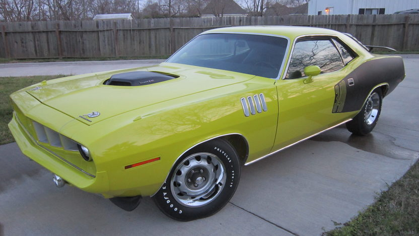 1971 Plymouth Cuda 340 CI, 4-Speed presented as lot S218 at Houston, TX 2013 - image12