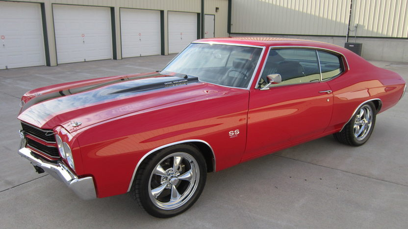 1970 Chevrolet Chevelle SS 454/500 HP, 4-Speed presented as lot S85 at Houston, TX 2013 - image8