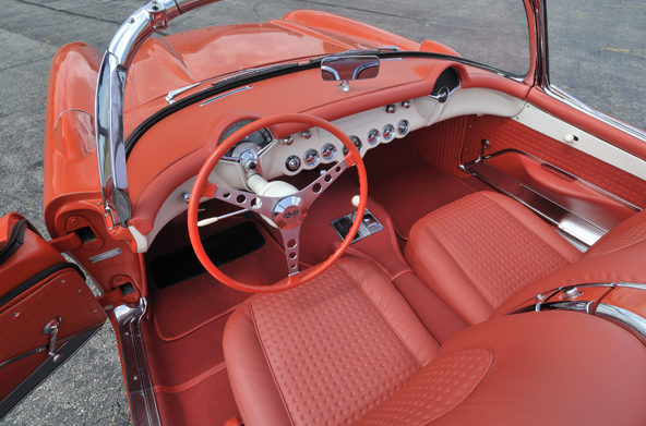 1957 Chevrolet Corvette Convertible 283/270 HP, 3-Speed presented as lot S87 at Houston, TX 2013 - image3