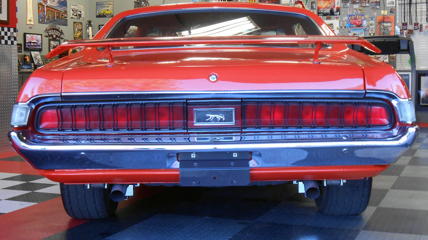 1970 Mercury Cougar Eliminator 351 CI, 4-Speed presented as lot S90 at Houston, TX 2013 - image3