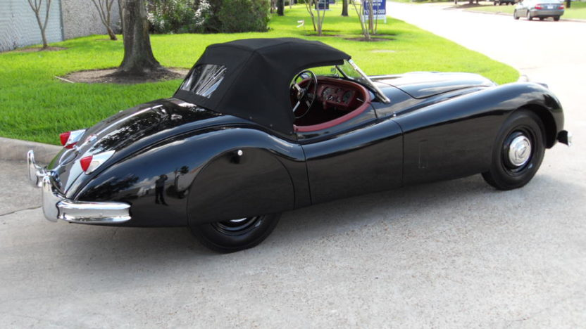 1956 Jaguar XK140 Roadster Frame-off Restoration Completed in 2012 presented as lot S98 at Houston, TX 2013 - image2