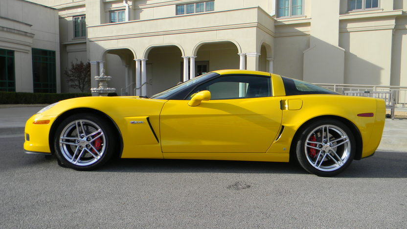 2006 Chevrolet Corvette Z06 LS7, 6-Speed, 12,000 Miles presented as lot S100 at Houston, TX 2013 - image2