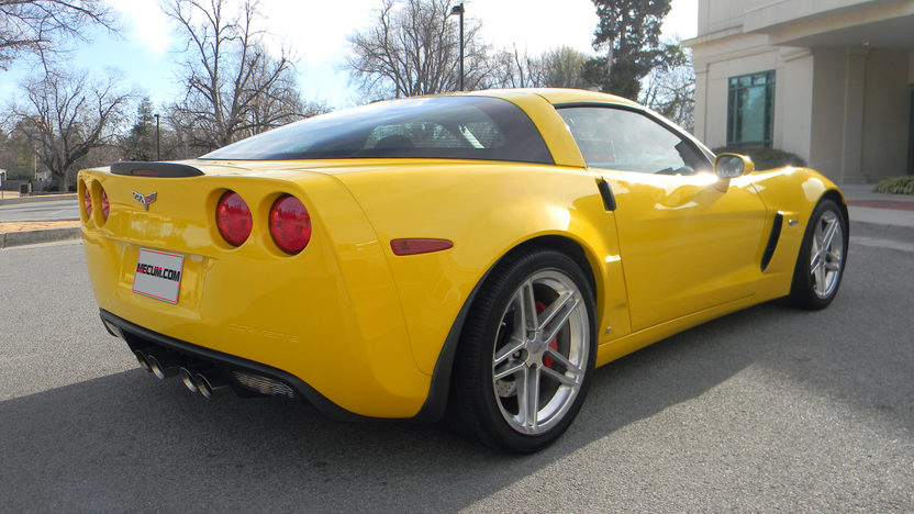 2006 Chevrolet Corvette Z06 LS7, 6-Speed, 12,000 Miles presented as lot S100 at Houston, TX 2013 - image3