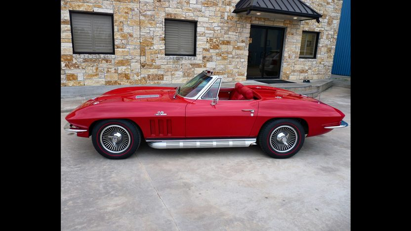 1966 Chevrolet Corvette Convertible 427/390 HP, 4-Speed presented as lot S106 at Houston, TX 2013 - image2