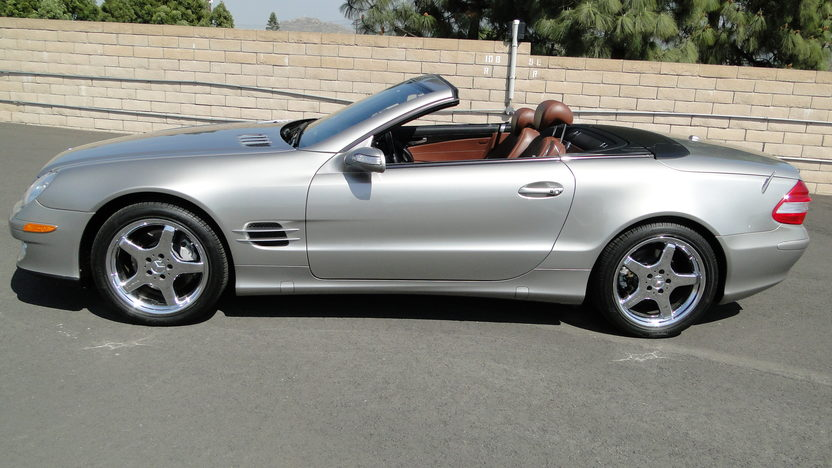 2007 Mercedes-Benz SL550 presented as lot S108 at Houston, TX 2013 - image2