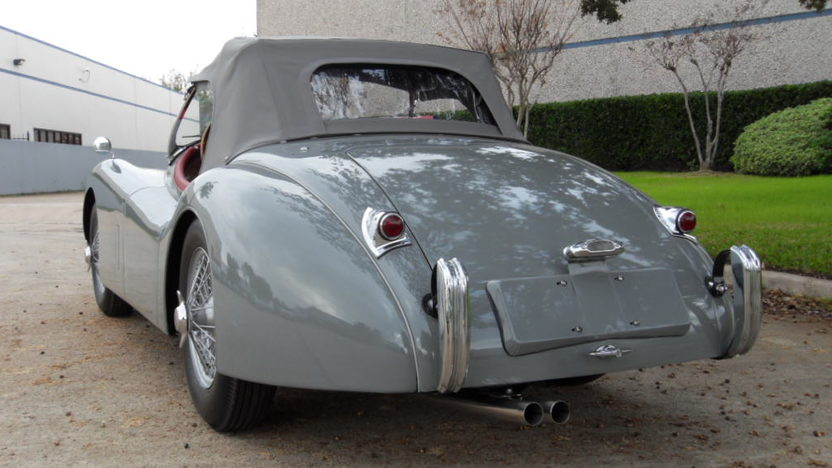 1953 Jaguar XK120SE Convertible 3.5/180 HP, 4-Speed presented as lot S109 at Houston, TX 2013 - image2