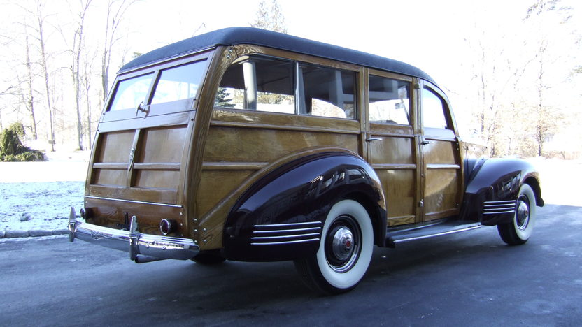 1941 Packard 110 Special Woody Wagon Hercules Body, Completely Restored presented as lot S110 at Houston, TX 2013 - image10