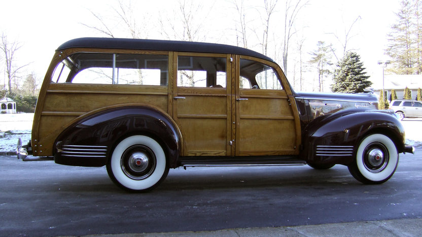 1941 Packard 110 Special Woody Wagon Hercules Body, Completely Restored presented as lot S110 at Houston, TX 2013 - image11
