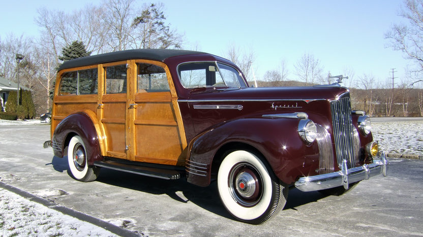 1941 Packard 110 Special Woody Wagon Hercules Body, Completely Restored presented as lot S110 at Houston, TX 2013 - image12