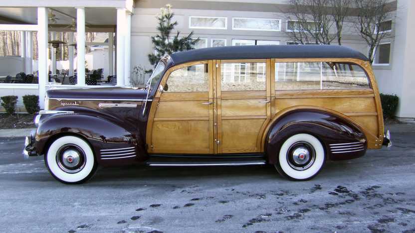 1941 Packard 110 Special Woody Wagon Hercules Body, Completely Restored presented as lot S110 at Houston, TX 2013 - image2