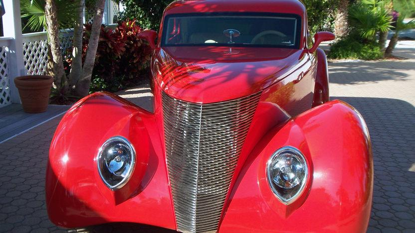 1937 Ford Slantback 350 CI, Fiberglass Body presented as lot S114 at Houston, TX 2013 - image10