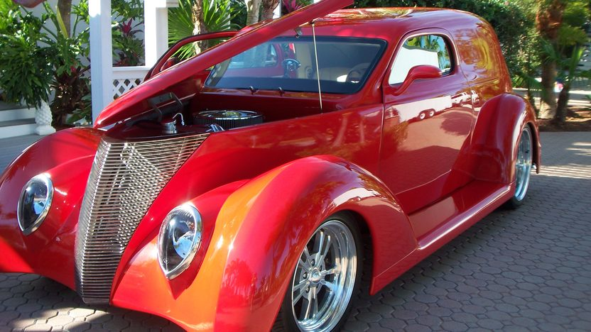 1937 Ford Slantback 350 CI, Fiberglass Body presented as lot S114 at Houston, TX 2013 - image7