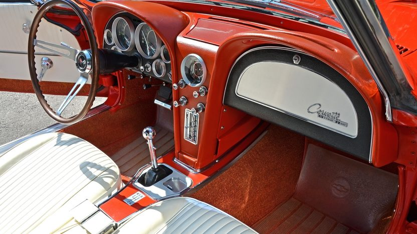 1964 Chevrolet Corvette Convertible LS6/405 HP, 4-Speed presented as lot F147 at Houston, TX 2013 - image5