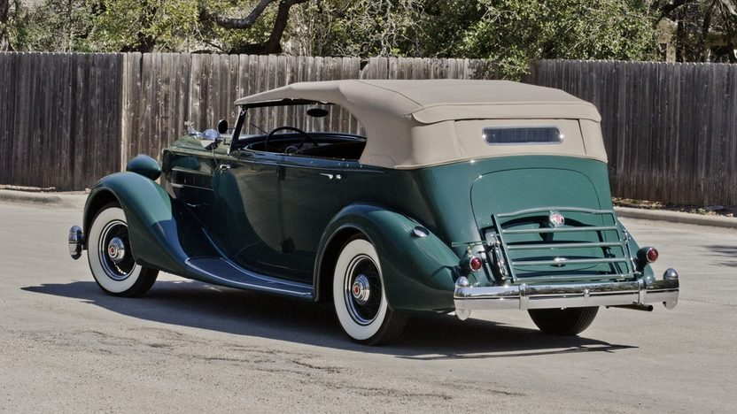 1936 Packard Phaeton Series 1402, Straight Eight, 3-Speed presented as lot S173 at Houston, TX 2013 - image2