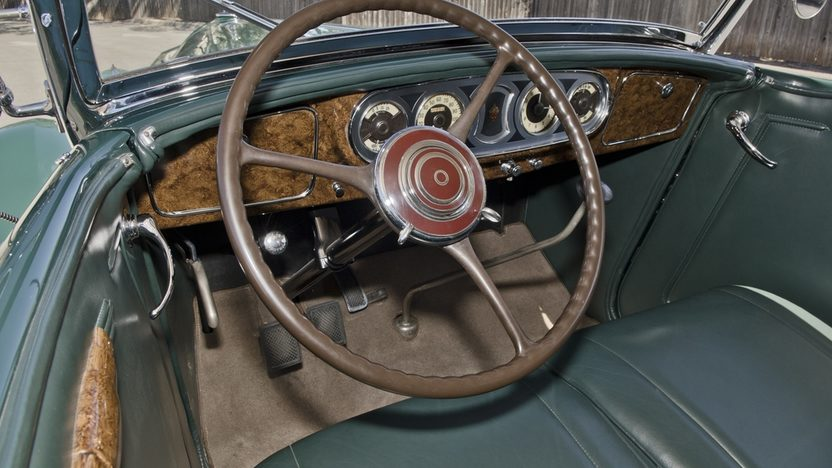 1936 Packard Phaeton Series 1402, Straight Eight, 3-Speed presented as lot S173 at Houston, TX 2013 - image3