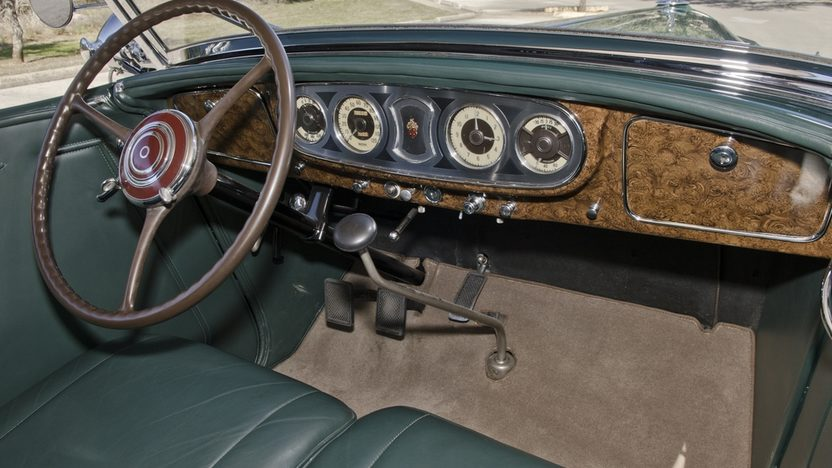 1936 Packard Phaeton Series 1402, Straight Eight, 3-Speed presented as lot S173 at Houston, TX 2013 - image4