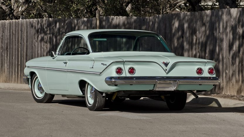 1961 Chevrolet Bel Air Bubble Top Tri-Power 348 CI, Factory Air presented as lot S176 at Houston, TX 2013 - image2