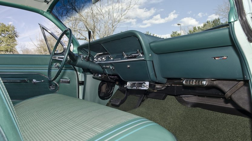 1961 Chevrolet Bel Air Bubble Top Tri-Power 348 CI, Factory Air presented as lot S176 at Houston, TX 2013 - image4