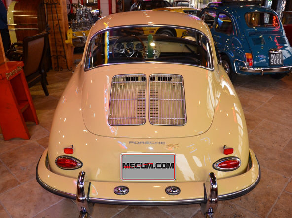 1964 Porsche 356SC Sunroof Coupe 1600 CC, Certificate of Authenticity presented as lot S106.1 at Houston, TX 2013 - image2